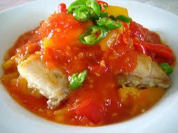 Ryba z papryk� i ananasem