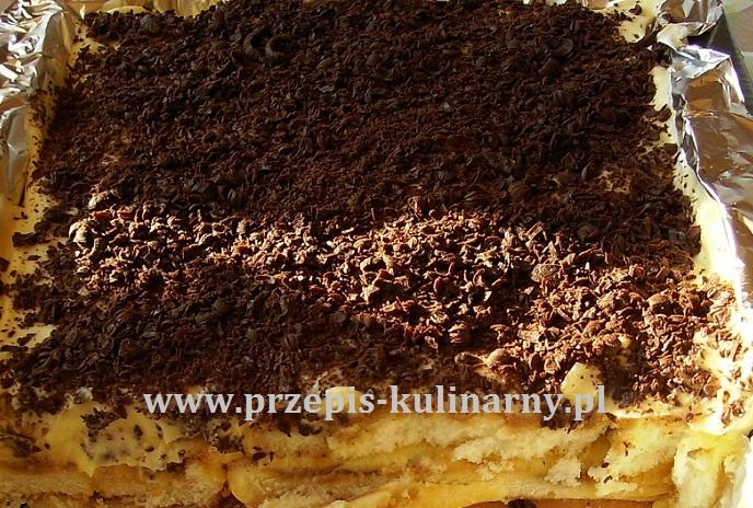 Przepis na ciasto tiramisu