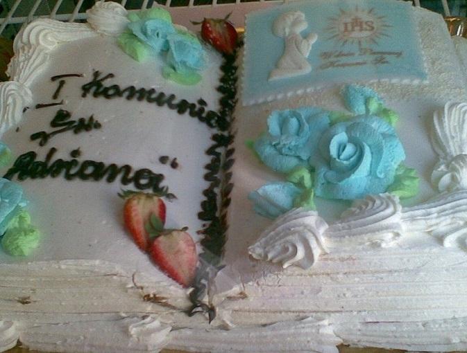 Torty na k��d� okazj�: urodzinowe, komunijne, �wi�teczne. Tanie i smaczne torty domowe.