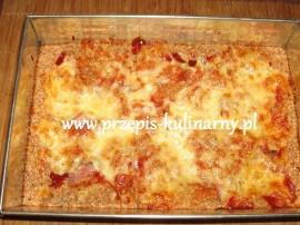 Oto moja wczorajsza kolacja :) sporz�dzi�am pizz� zgodnie z zaleceniami diety Dukana. Dro�d�e przek�adamy do miski, posypujemy ...