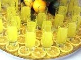 Cytrynówka nalewka z cytryn