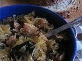 Pyszny bigos z programu Ewa gotuje, bogaty w mięsa będzie wspaniałym uzupełnieniem świątecznego stołu. Przepis z repertuaru pan...