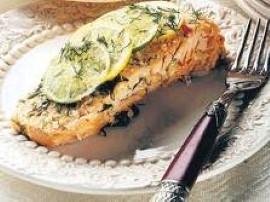 Ryba w sosie czosnkowym