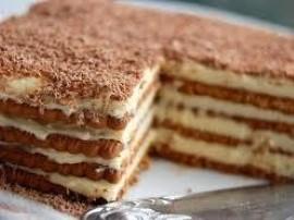 Pyszne ciasto Krówka, w dodatku bardzo szybkie bo bez pieczenia! Masę krówkową wkładamy do garnka z gorąca woda i chwilkę gotuj...