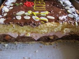 Nieco pracochłonne ale niezwykle smaczne i efektowne - ciasto bawole oczy. Pieczone jest w moim domu od wielu, wielu lat, poniew...