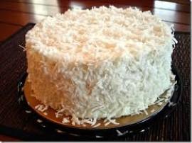 Tort na komunię czekoladowo-kokosowy