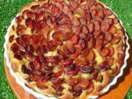 Ciasto francuskie ze �liwkami