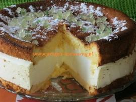 Bardzo smaczne i proste ciasto, przepis sprawdzony wielokrotnie a ciasto robi furorę :-). Polecam! Biszkopt :6 białek ubić na p...