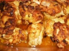 Kurczak w migda�ach