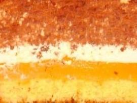 Upiec biszkopt.  Sok (3/4 litra) zagotować z cukrem w 1/4 budynie,gdy sok zawrze wlewamy budyń (cienkim strumieniem), mieszamy ...