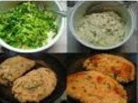 Rewelacyjny smak, nie tylko dla jaroszy :) Ryż gotujemy w osolonej wodzie (musi być lekko rozgotowany - kleisty), studzimy. Grz...