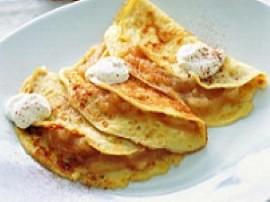 Żółtka oddzielić od białek, wymieszać z roztopionym ( nie zrumienionym) masłem, dodawać stopniowo mąkę, mleko wodę i szczyptę so...