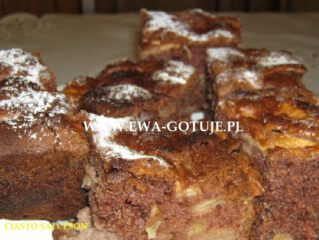 Przepyszne ciasto salceson