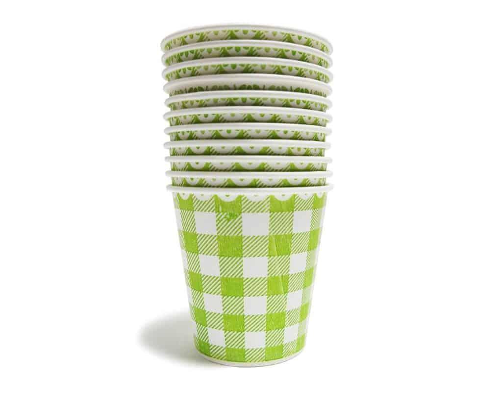 ekologiczne kubki papierowe