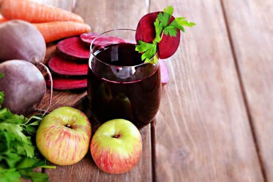 Sok z buraków jabłka marchewki imbiru