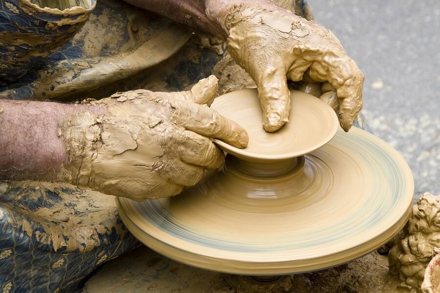 Ceramika z gliny