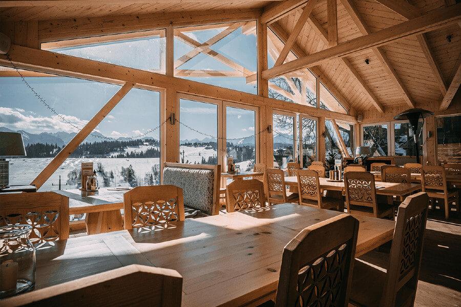 restauracja góry