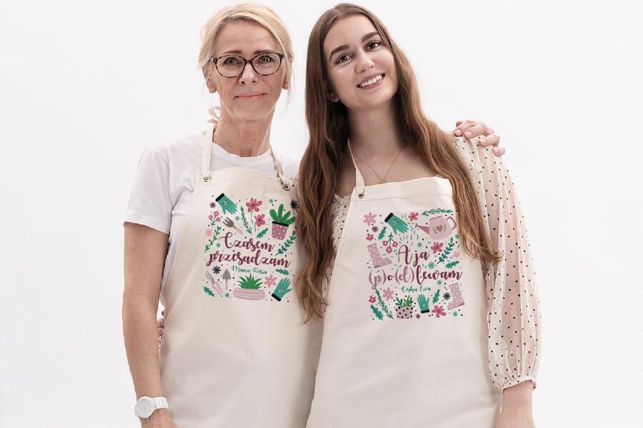 fartuch dla mamy i córki